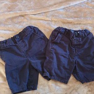 Boys uniform shorts - Navy Blue